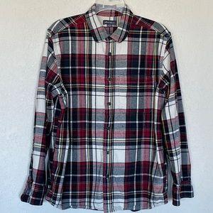 EDDIE BAUER Plaid Flannel Shirt